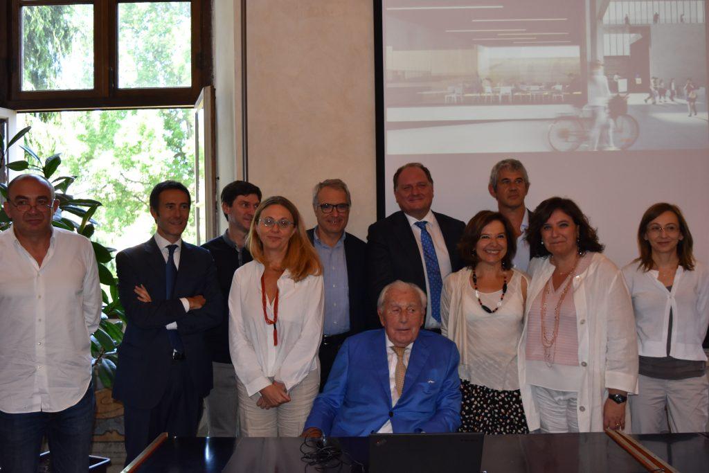 Firmatari accordo per Cottino Social Impact Campus