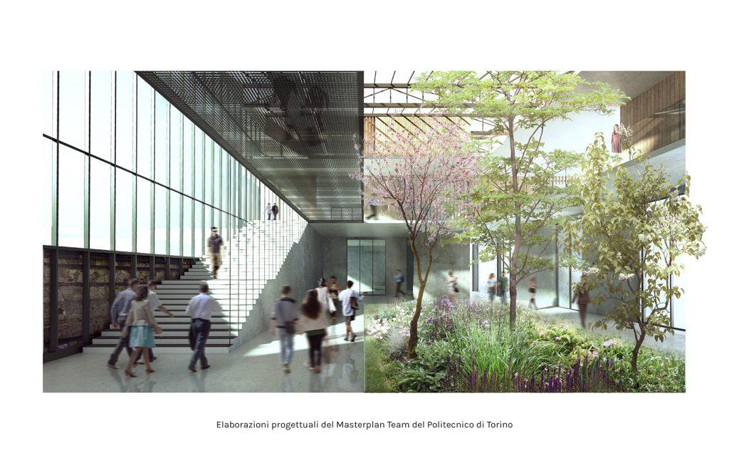 Rendere Cottino Learning Center - Il nuovo Campus nella Cittadella Politecnica - Torino