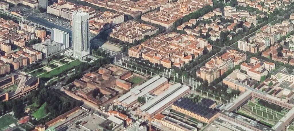Area Politecnico di Torino e OGR