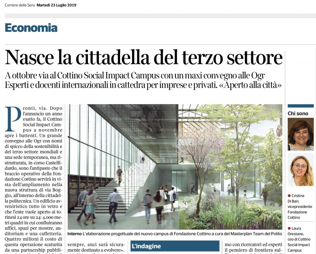 Corriere della Sera Torino - 23 luglio