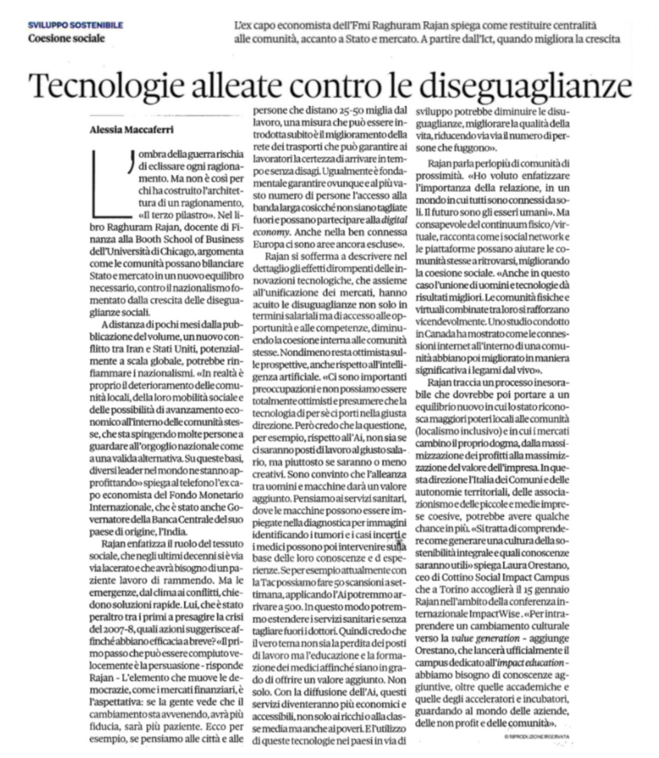 Tecnologie alleate contro le diseguaglianze